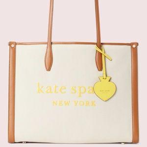 Kate Spade ♠️ Market Canvas Tote